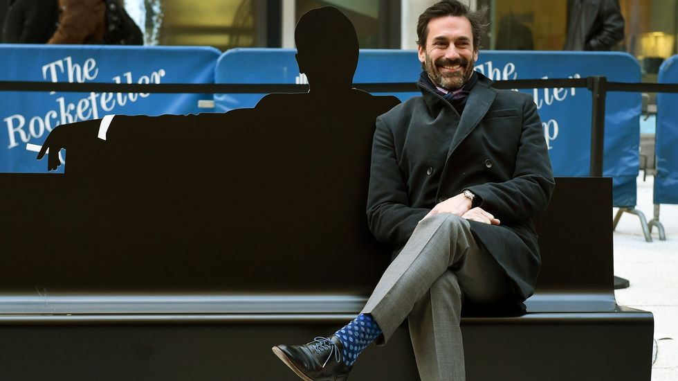 El actor Jon Hamm, protagoninsta de Mad Men