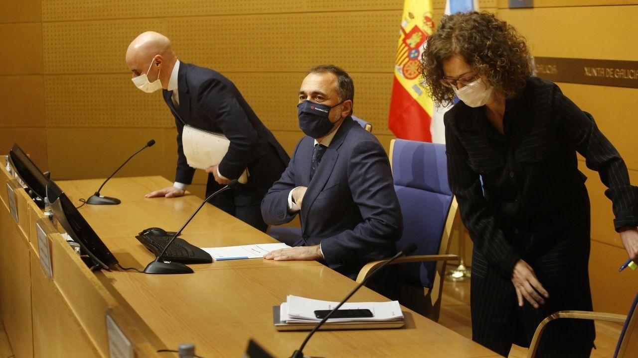 En directo: Cambios en el mapa de restricciones en Galicia.Medidor de CO2 en la Taberna da Galera, en A Coruña