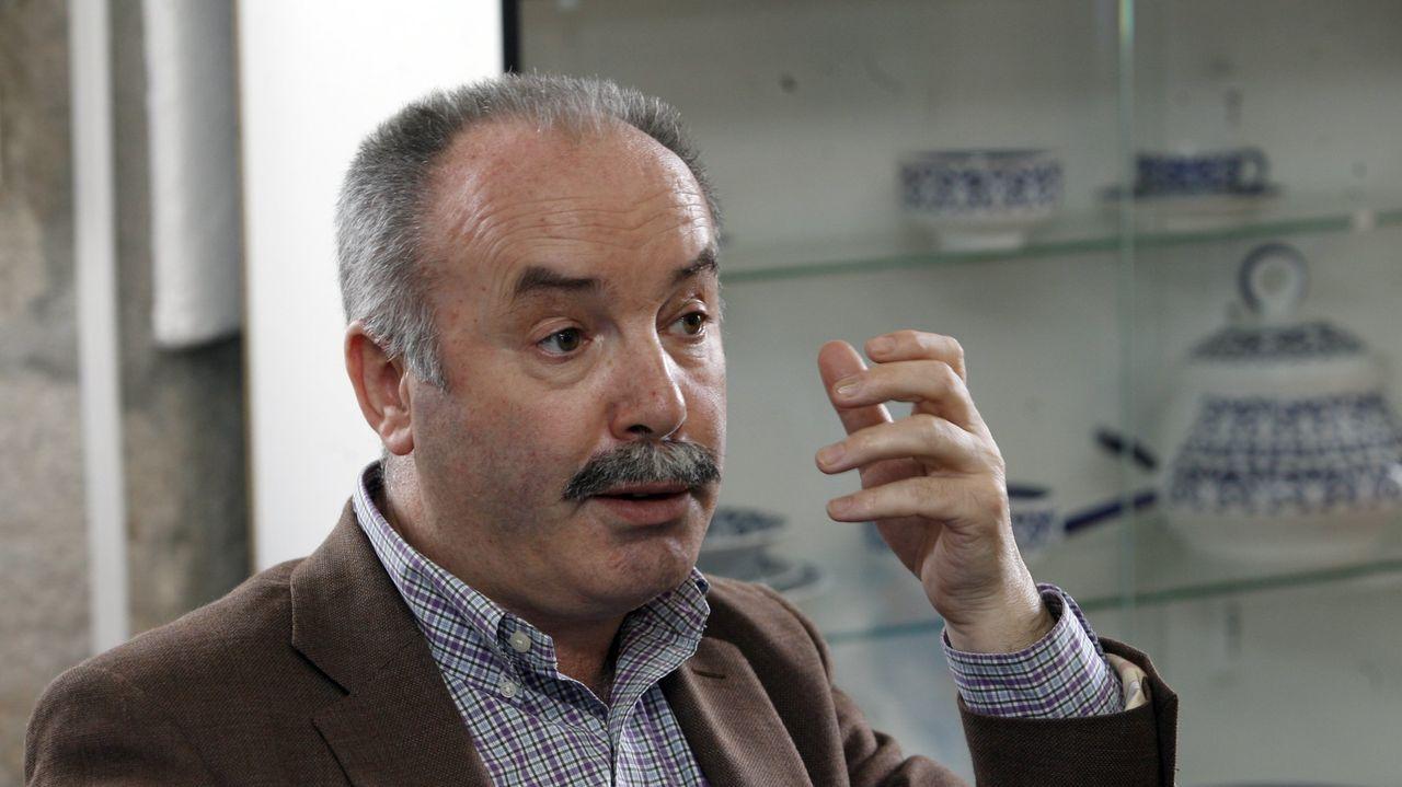 Pegerto Saavedra, en imagen de archivo