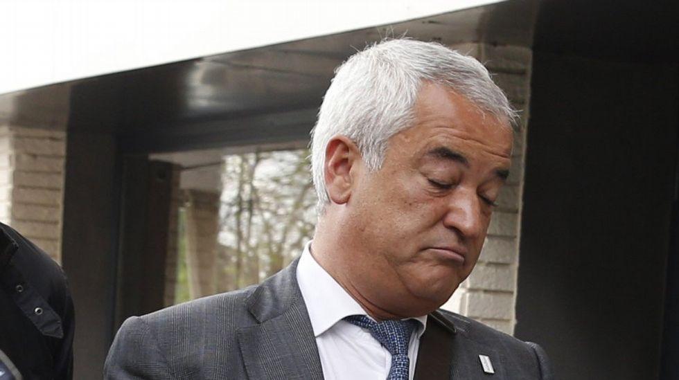 Así fueron algunas de las declaraciones con las que Pineda criticó a Evo-Banco.Luis Pineda, presidente de Ausbanc
