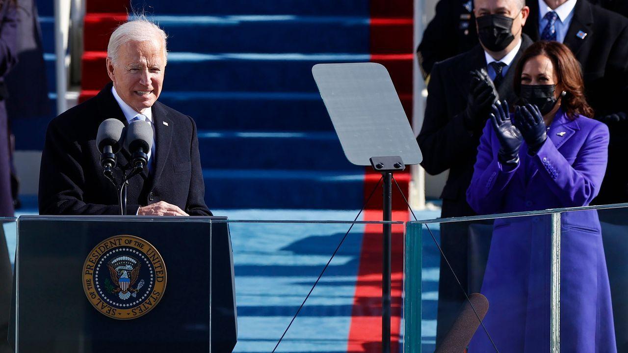 Investidura de Joe Biden.Santiago Abascal e Ignacio Garriga celebraron los resultados electorales de Cataluña