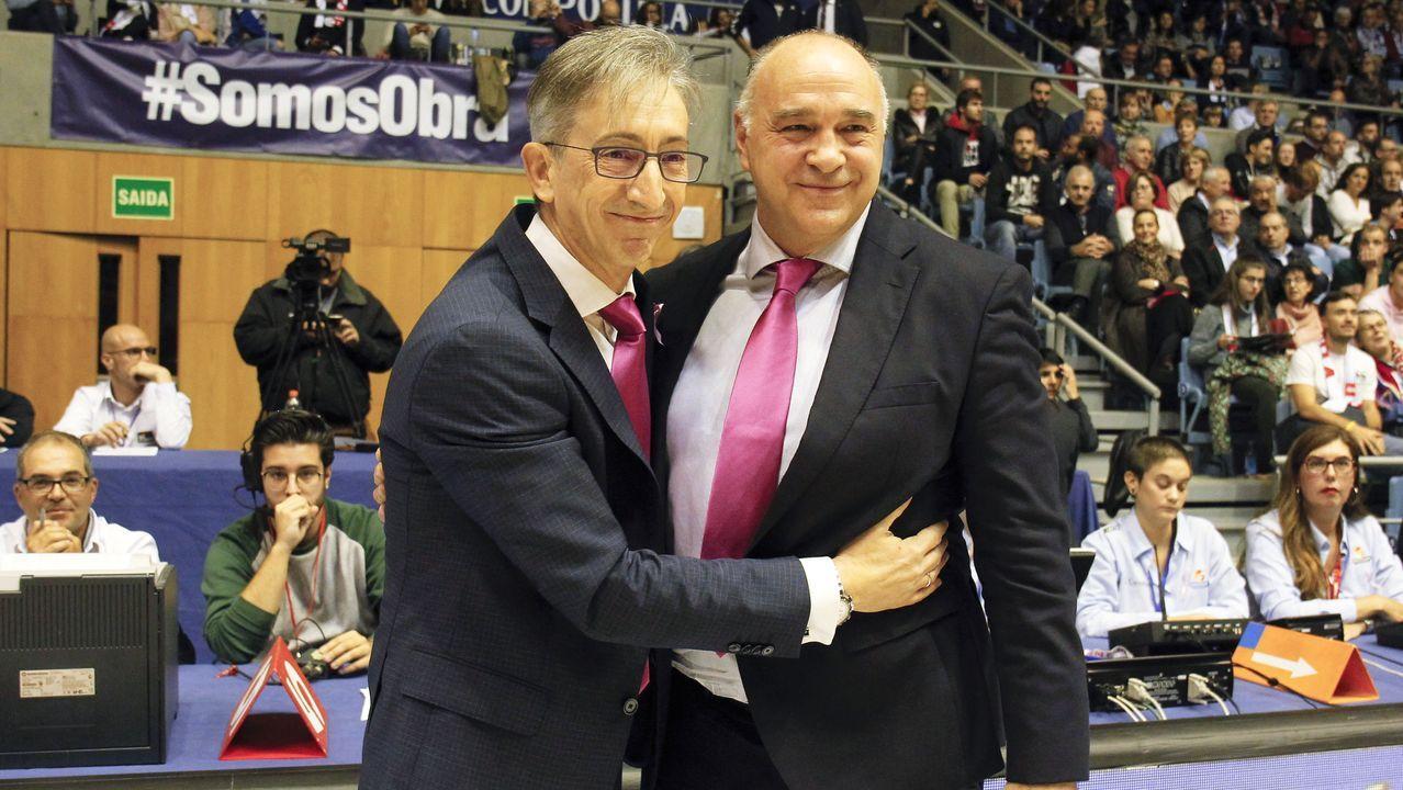 Jordi Bargallo, con el Oliveirense