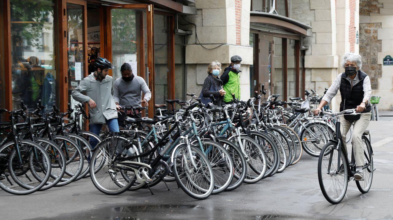 El uso de la bicicleta será prioritario para el gobierno francés en la desescalada. En la imagen, París