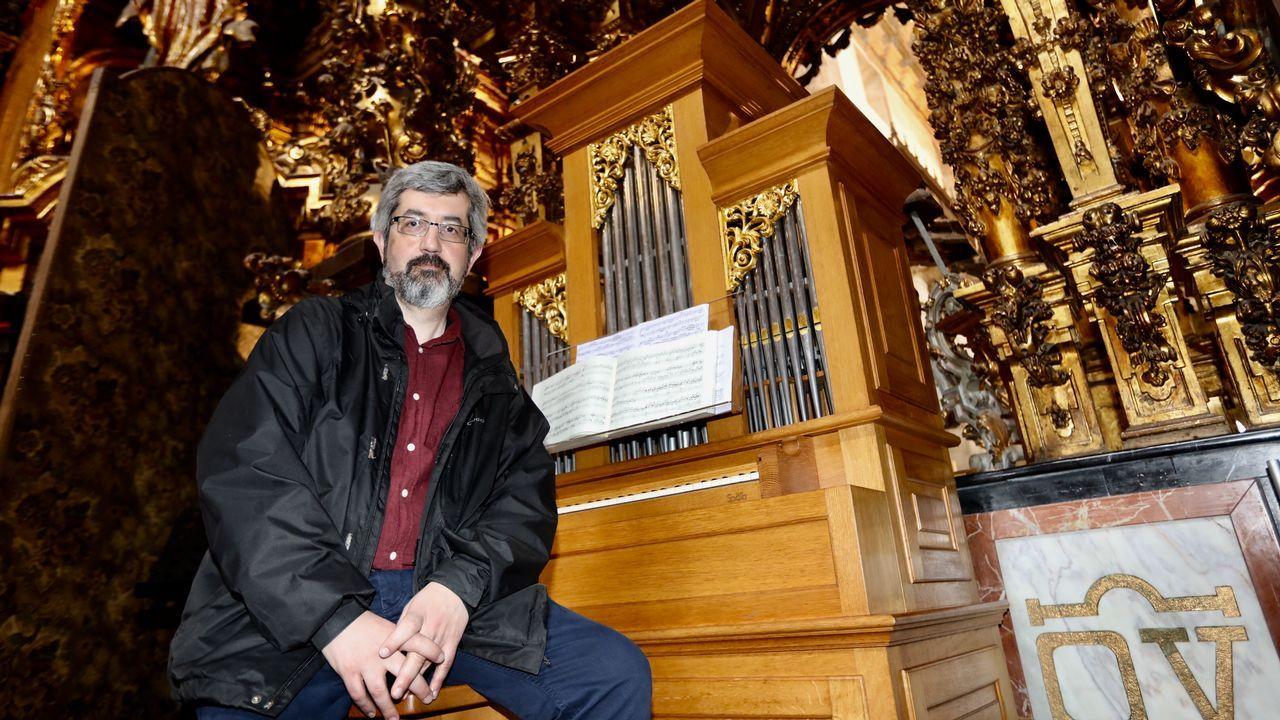 Jorge Godás empezó a componer a los 15 años