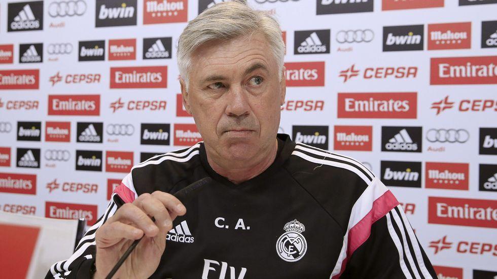 Florentino anuncia el despido de Ancelotti