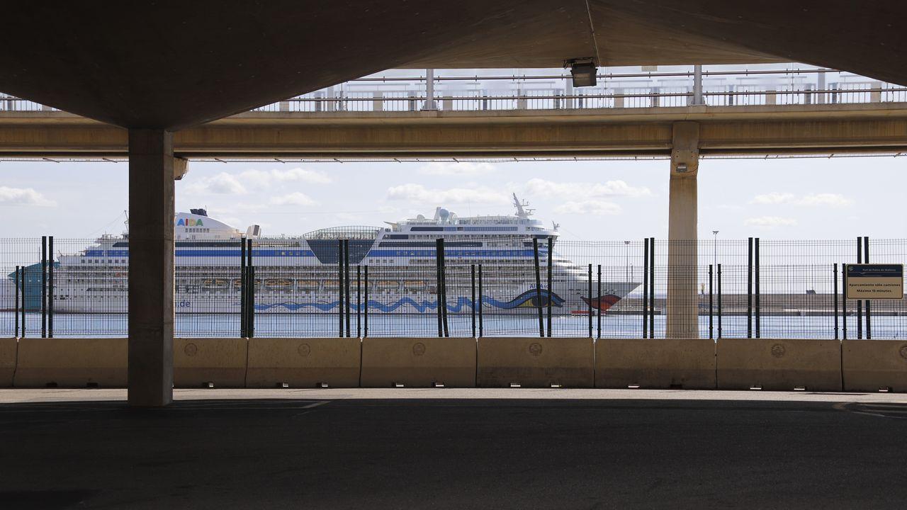Imagen del puerto de Palma de Mallorca