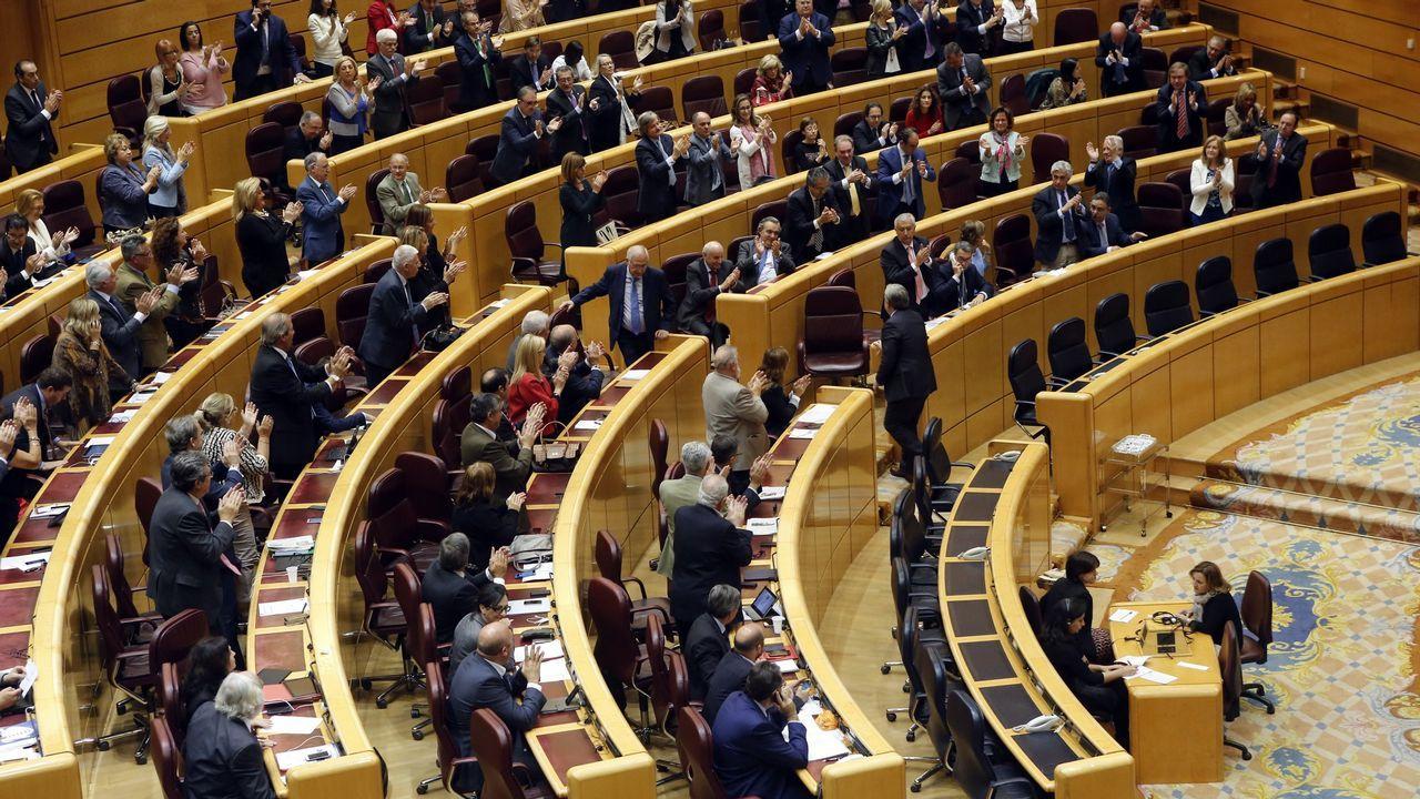 Imagen de archivo del Senado