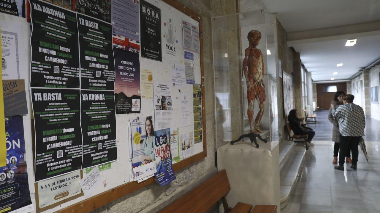 Jornada de parode losestudiantes de Medicina.Jaime Altozano y El Barroquista, en #CulturaLike, unas recientes jornadas celebradas en Santiago