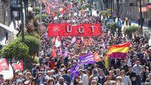 Las movilizaciones del 1 de mayo en Galicia