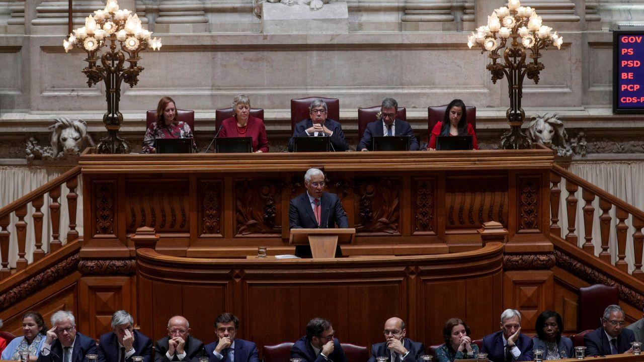 pepa.António Costa prometió hoy una batería de medidas sociales para su segunda legislatura ante el Parlamento
