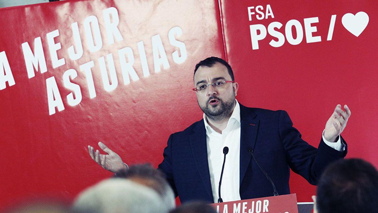 Barbón se proclama nuevo presidente de Asturias.Adrián Barbón