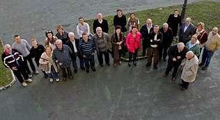 Los voluntarios, de toda Galicia, se reunieron para escuchar los resultados del estudio.