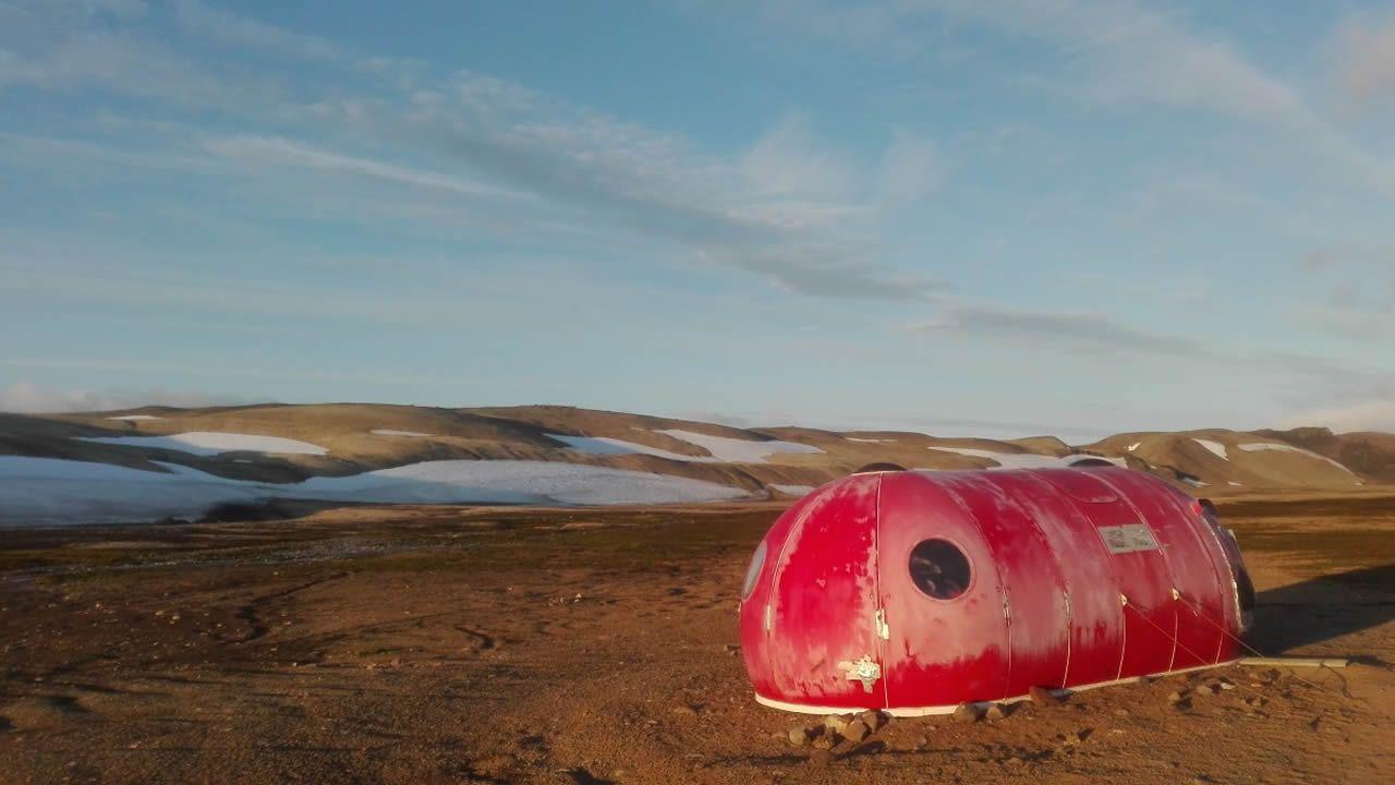 Así se analiza el permafrost en la Antártida.La base española Gabriel de Castilla está alojada en esta isla volcánica de la Antártida