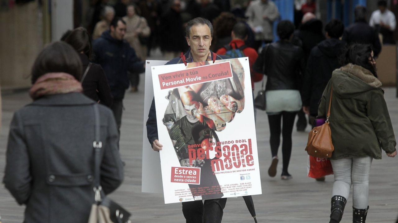 O selo Xerais celebra cunha nova edición revisada os trinta anos da primeira novela de Manuel Rivas. .Héctor Carré nunha imaxe do 2013.