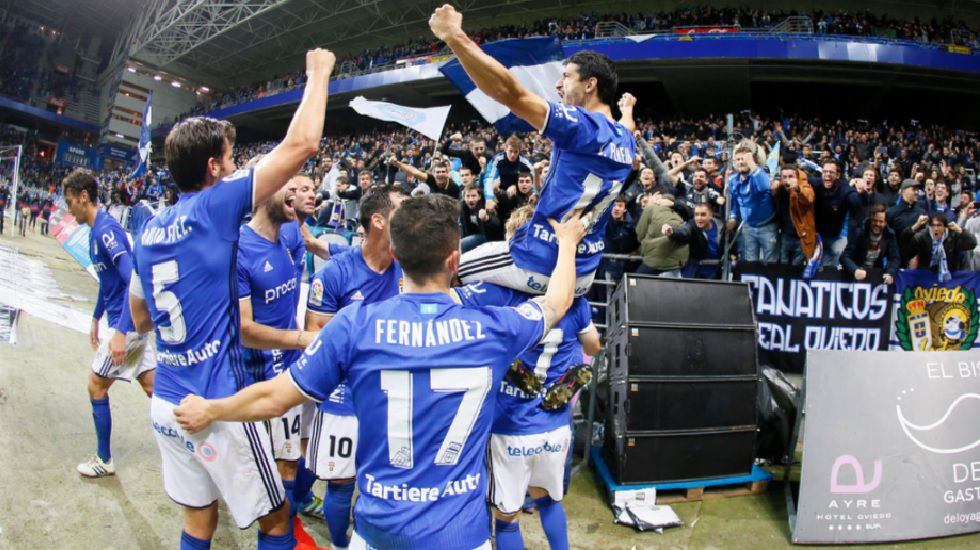 Jonathan Pereira celebra su gol ante el Levante