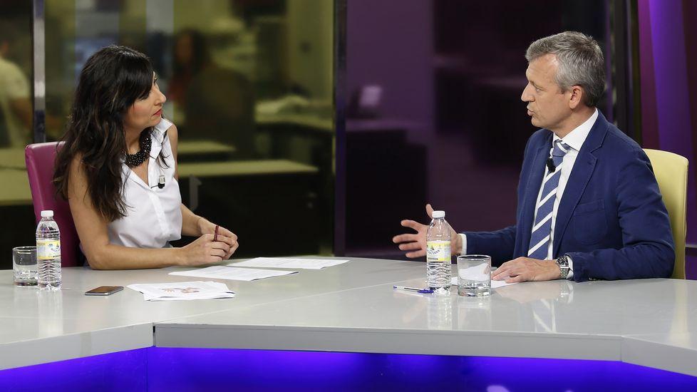 Entrevista a Alfonso Rueda en «Vía V»
