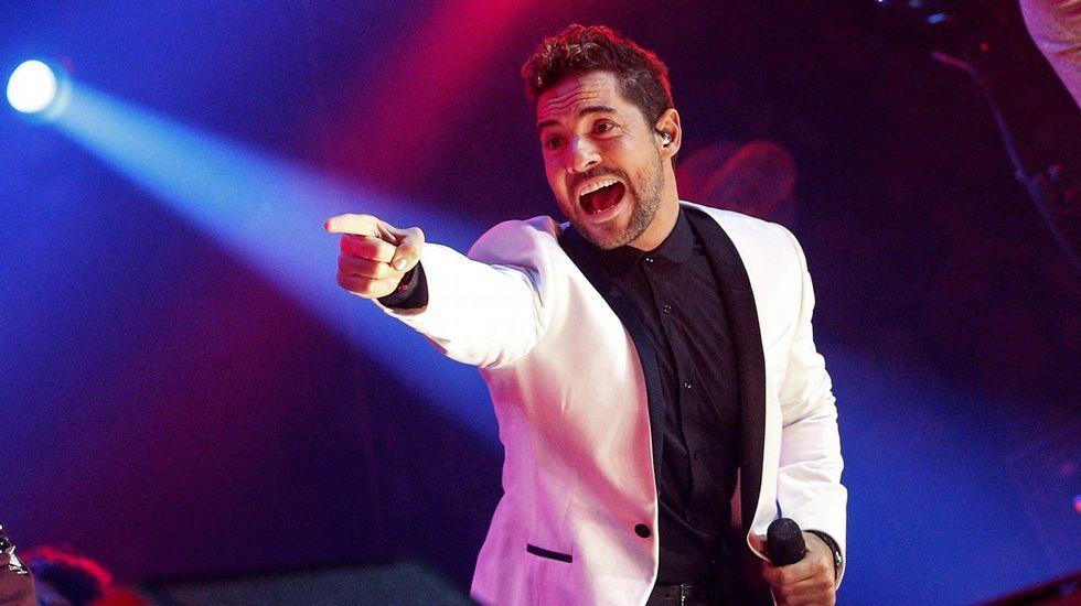 David Bisbal canta «Ave María» en «OT. El reencuentro»