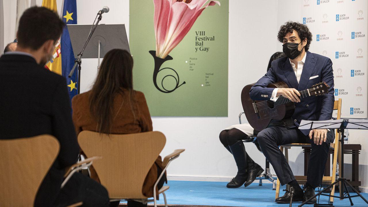 Pablo Sáinz-Villegas, en la presentación en Madrid del festival