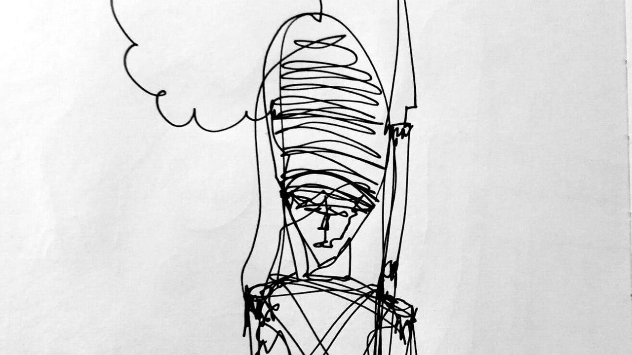 Ilustración de un soldadito de plomo