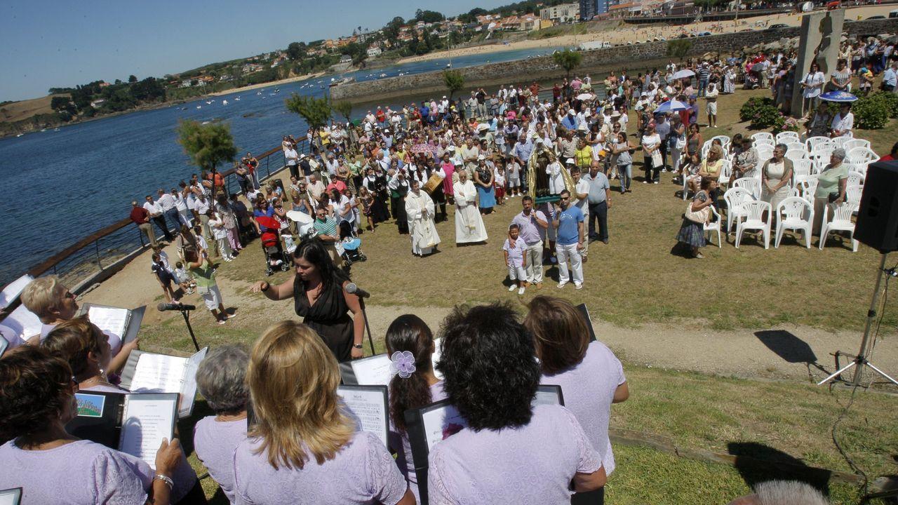 Imagen de archivo de la celebración de Santa Ana en Mera