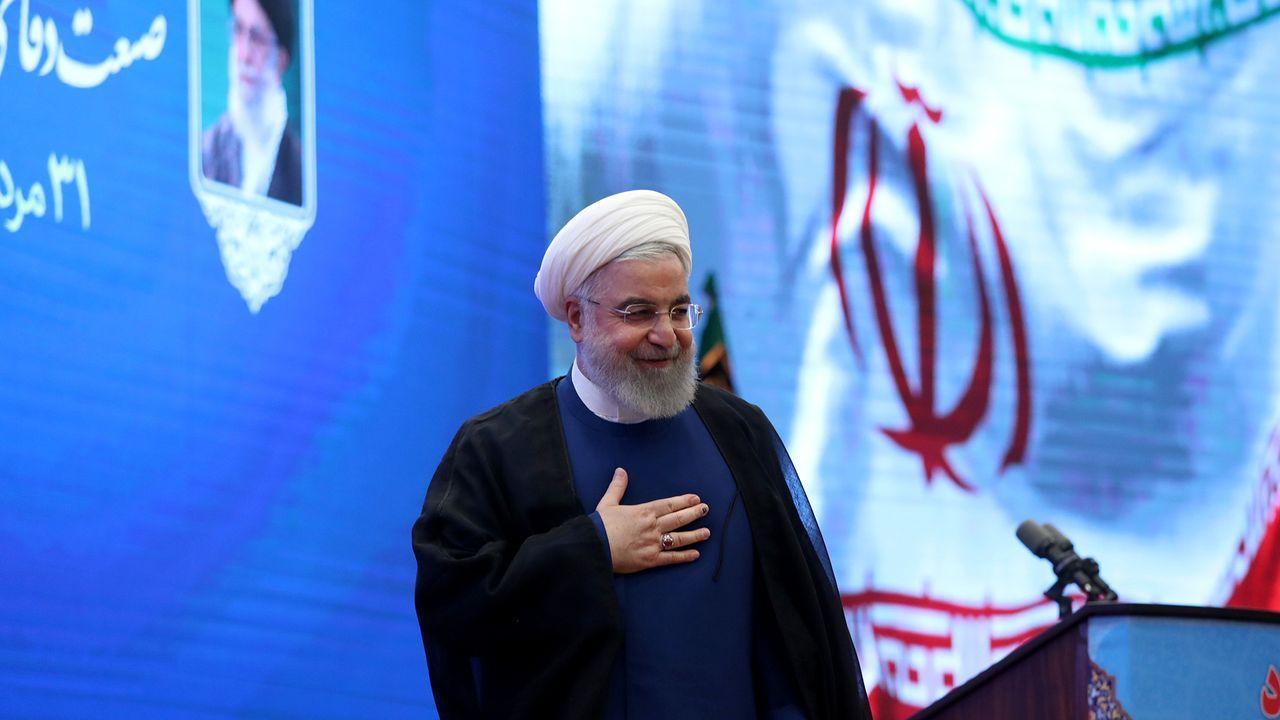 El presidente iraní, Hassan Rohaní