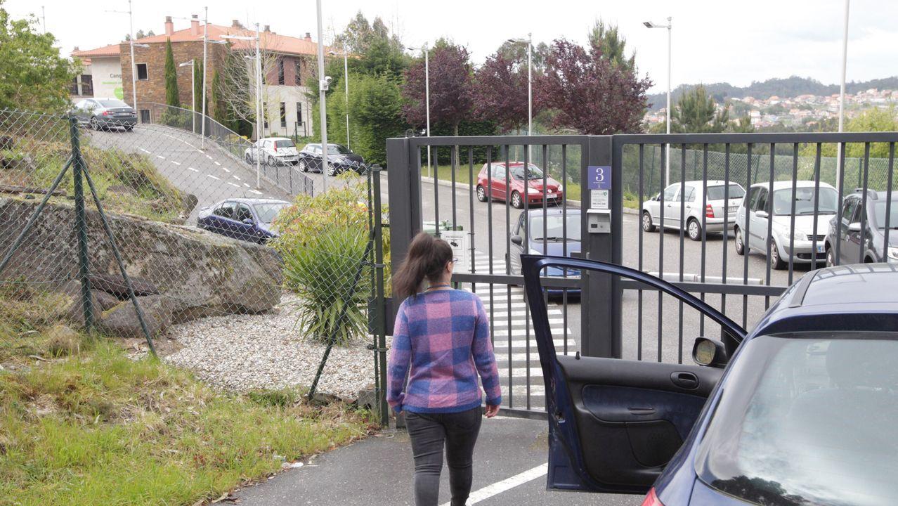 El primer paciente de coronavirus de Vigo sale de la UCI.La residencia de DomusVi en Aldán