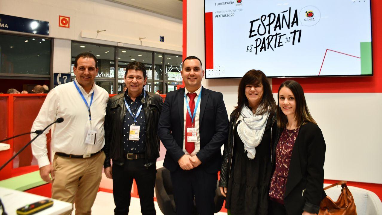 alcoa.Ganadores del último concurso de tapas de Lugo y que podrían acudir a la fase final de Madrid