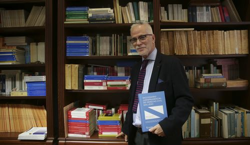 Sande presenta este jueves en el TSXG su obra «Diccionario jurisprudencial del Derecho Civil Gallego»