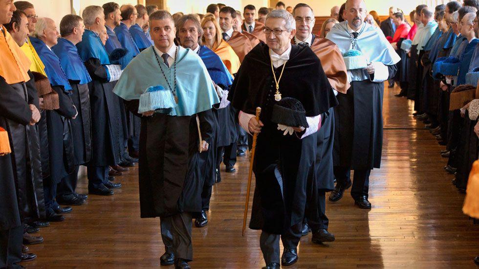 El rector de la Universidad de Oviedo, Santiago García Granda.El rector de la Universidad de Oviedo, Santiago García Granda