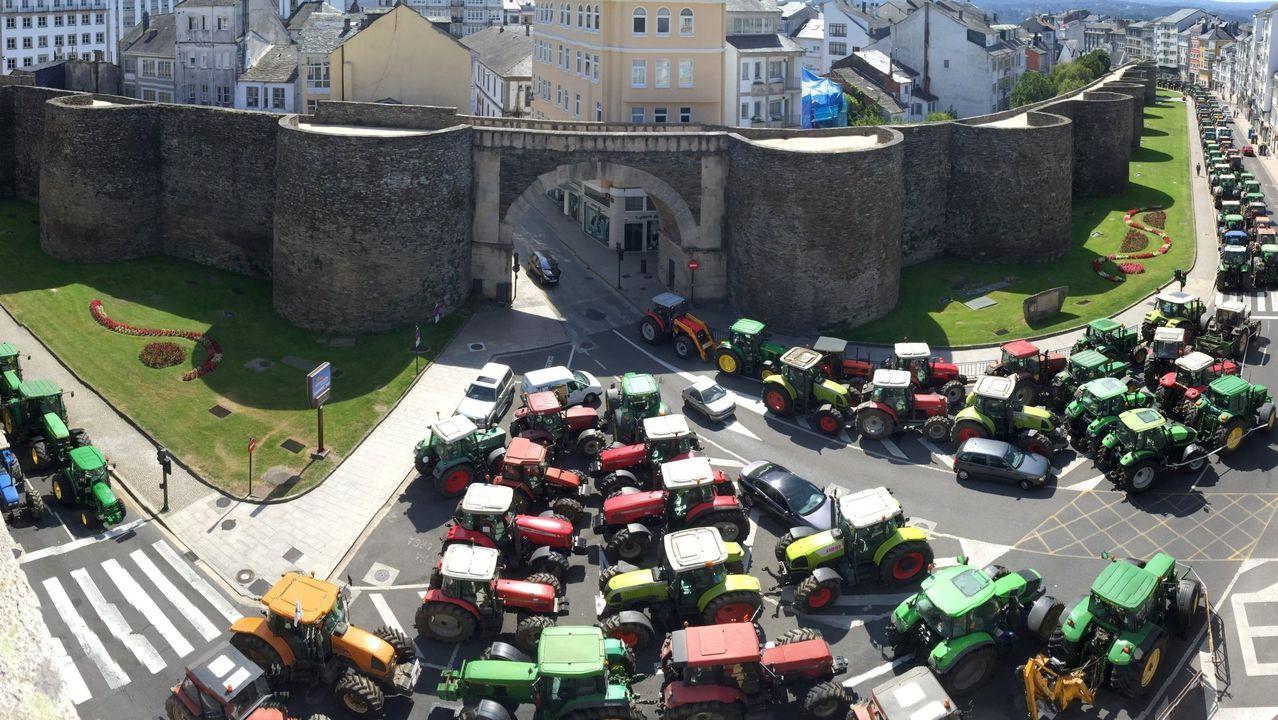 20 fotos para 20 años de la Muralla de Lugo Patrimonio de la Humanidad.El adarve de la Muralla siempre es un buen lugar para pasear por Lugo