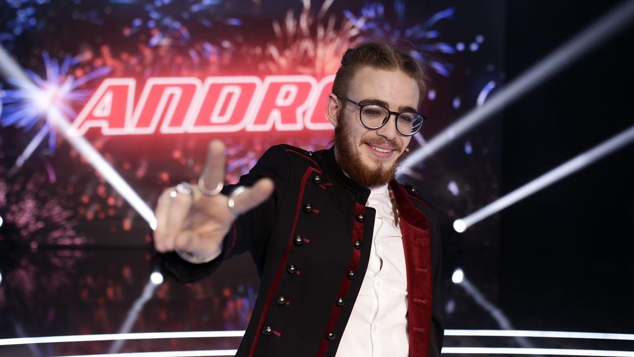 Así se proclamó ganador de «La Voz» Andres Martín