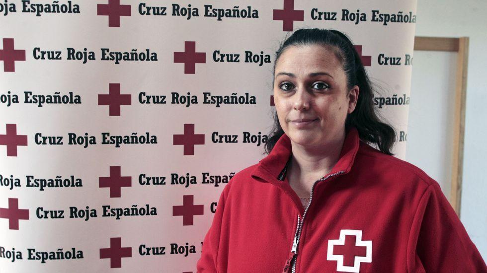 Guadalupe Rodríguez trabaja como educadora social en la Cruz Roja de Monforte