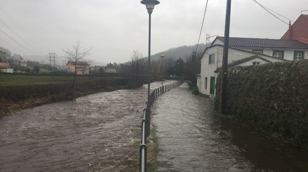 Inundación en Neda.
