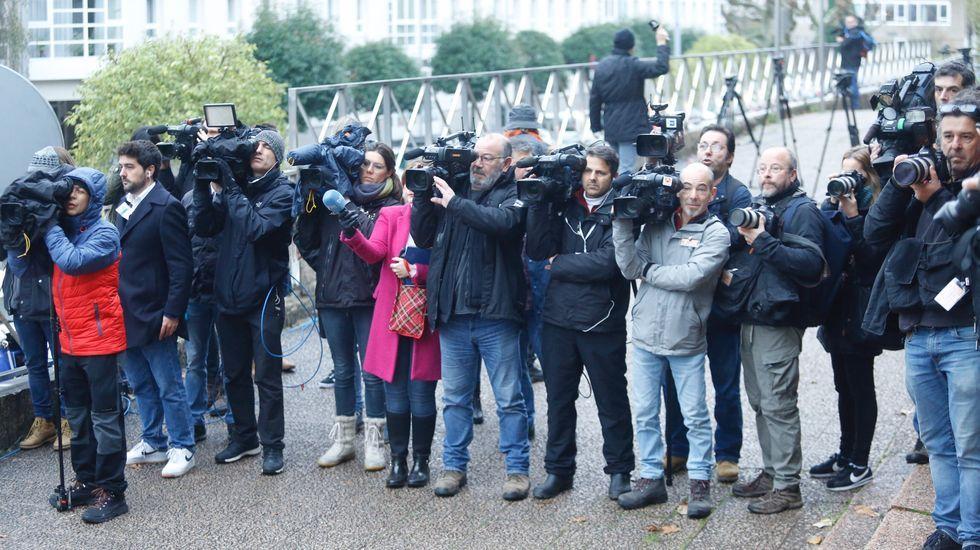 Primer día del juicio por la muerte de Diana Quer. La expectación mediática es innegable