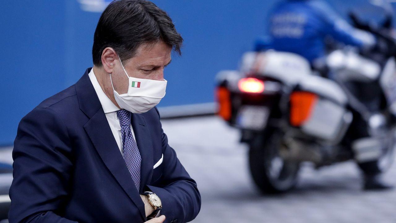 Giuseppe Conte, primer ministro italiano, en una imagen de archivo