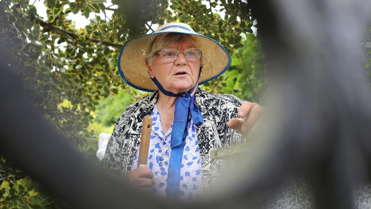 Ana tiene 88 años y vive en Xalo desde hace 25
