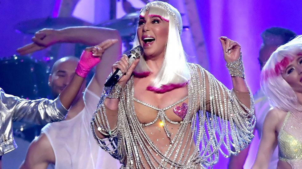 Cher, espectacular en los premios Billboard