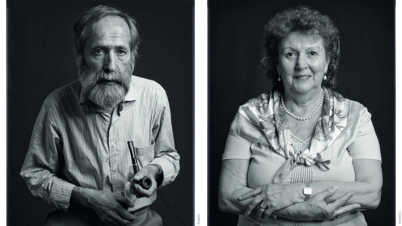 Ramón Carreira e Ramona López