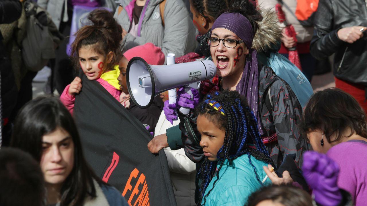 Búscate en la manifestación feminista de Lugo