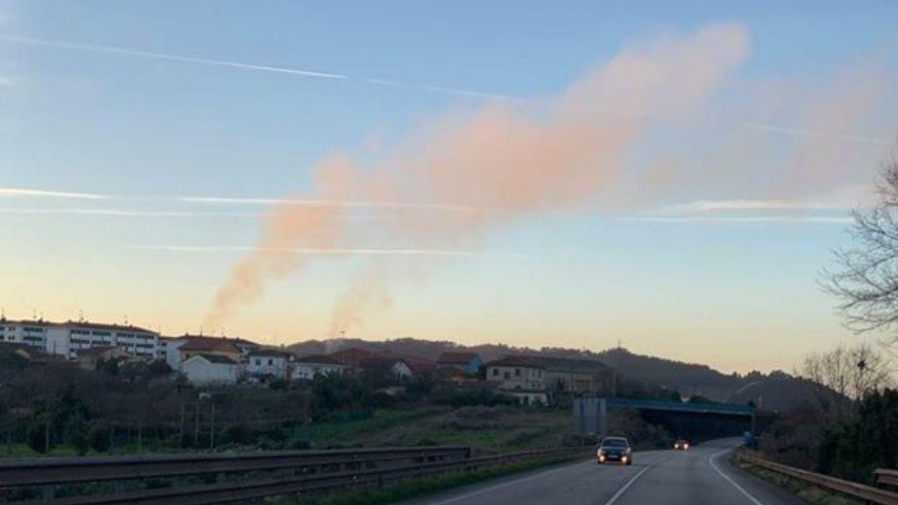 Contaminación en Gijón.MOMENTO EN EL QUE SE ADMINISTRA UNA VACUNA