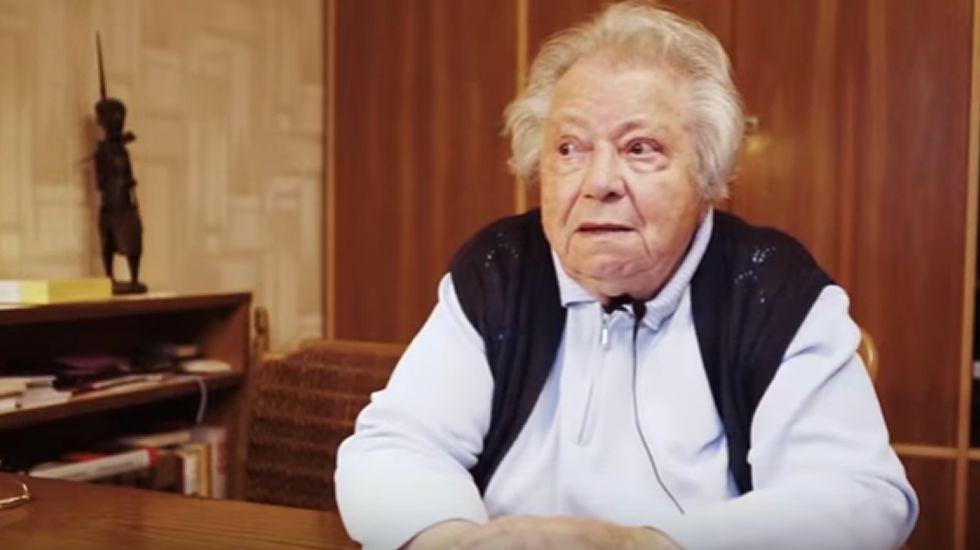 El emotivo mensaje de la última superviviente del Holocausto