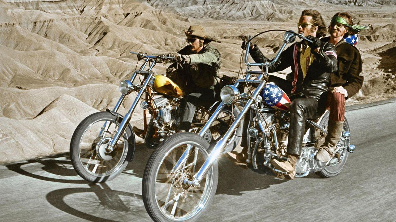 «Easy Rider» es un hito en el género de las «road movies»