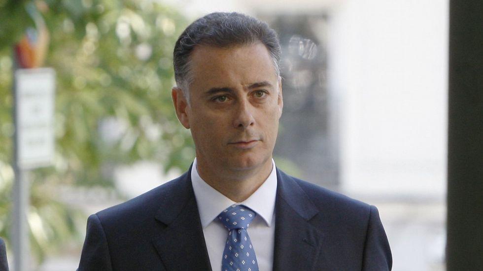 Alberto López | 46 años | Exconsejero madrileño. Concedió a Francisco Correa la organización de 386 actos.