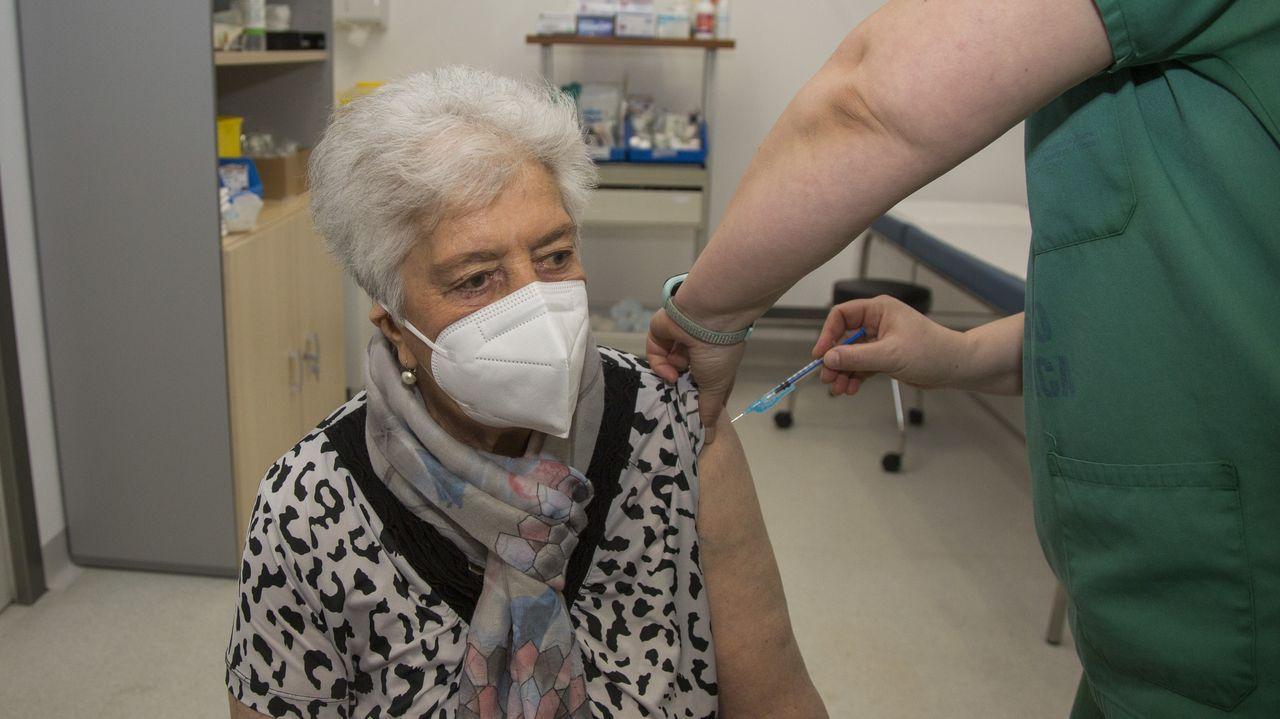 Vacunación masiva en Expocoruña