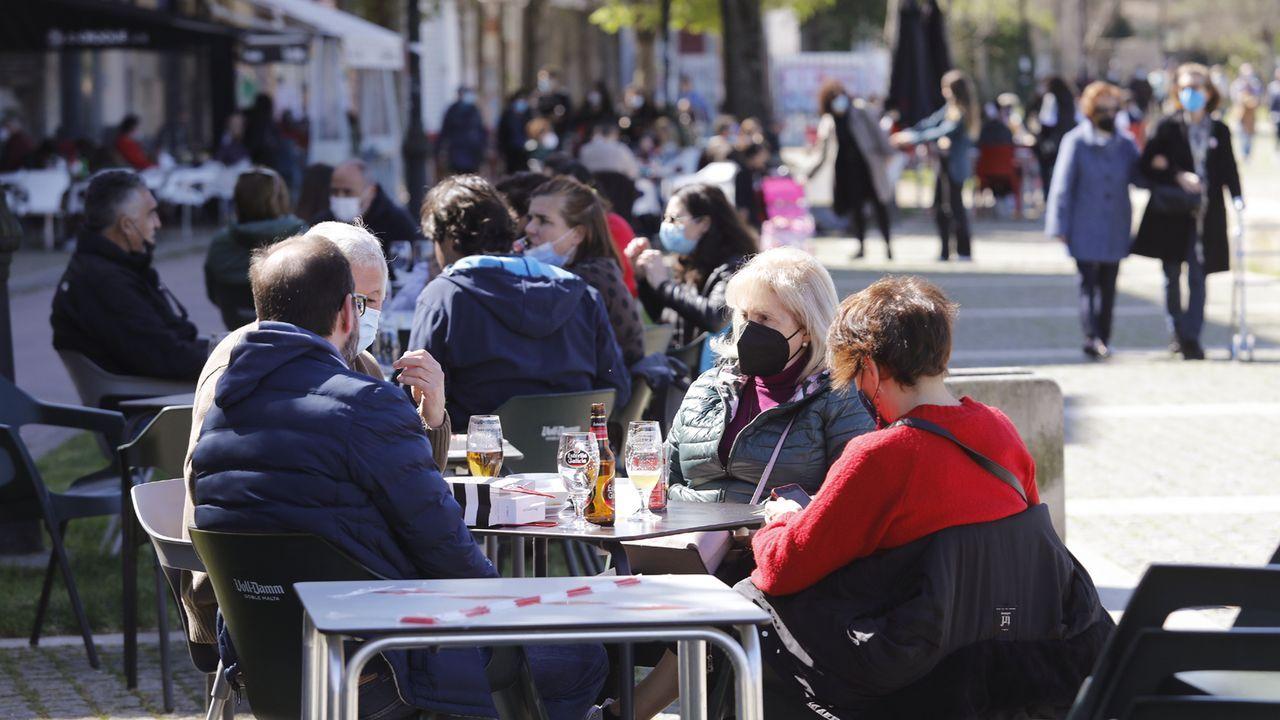 La versión del restaurante 55 pasos (A Coruña)