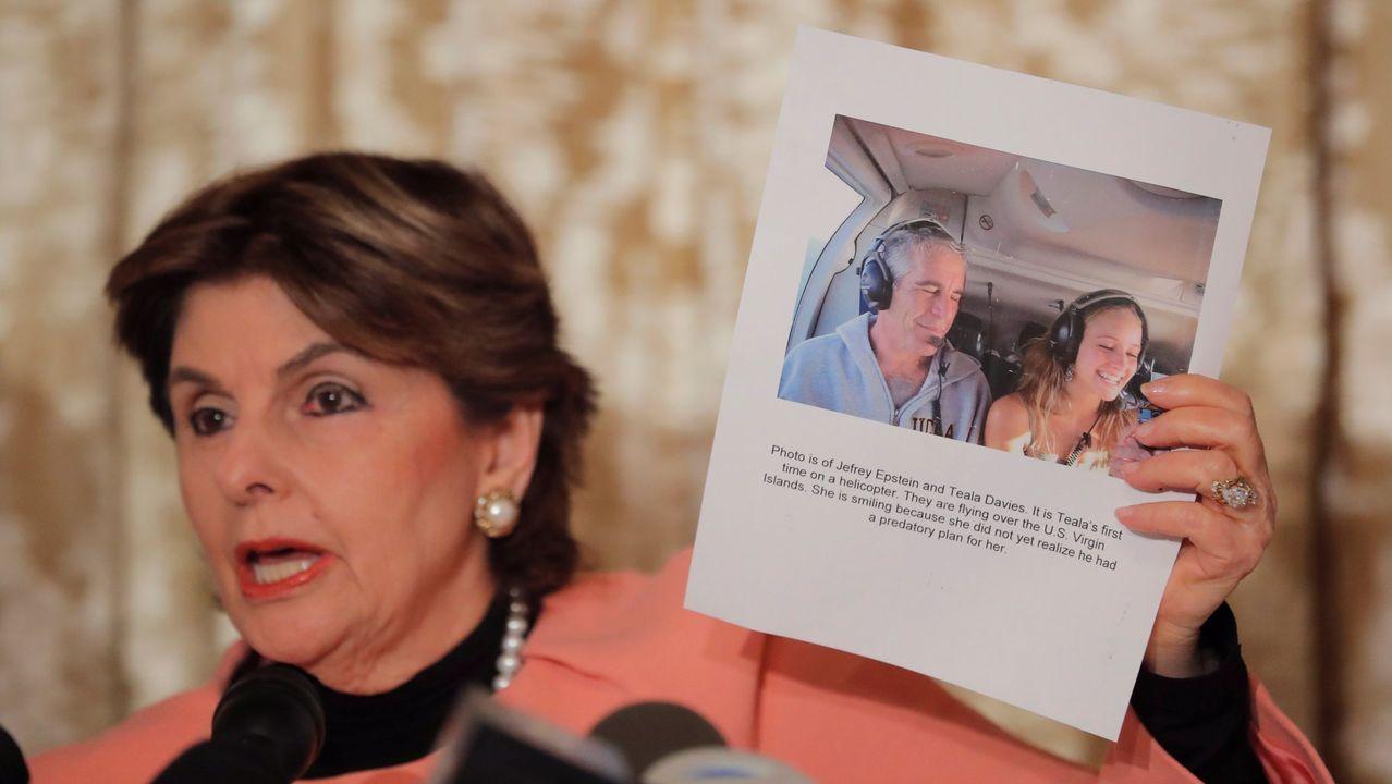 La abogada Gloria Allred representó también a demandantes que acusaron de abuso sexual a Jeffrey Epstein