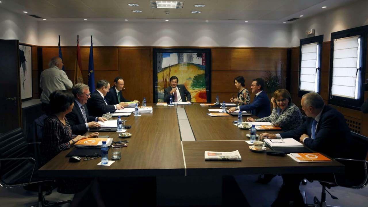 Consejo de gobierno de Javier Fernández