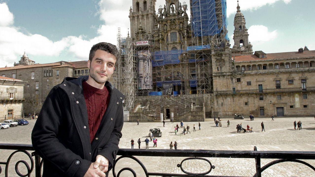 Xabier Mariño, autor de «Sálvora»