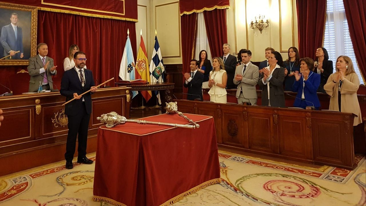 El palacete y la finca del Espiño, en imágenes.Ángel Mato, actual alcalde de Ferrol por el PSOE