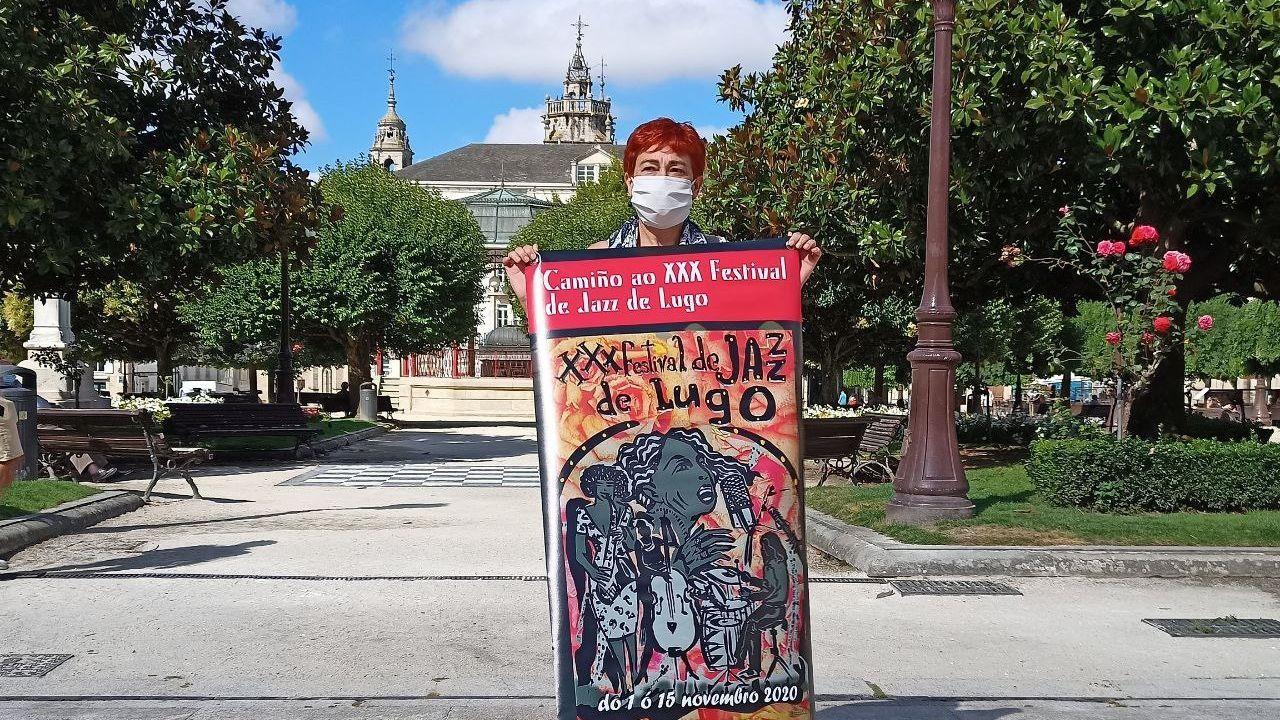 Maite Ferreiro anuncia a programación de «Dixieland nas rúas»